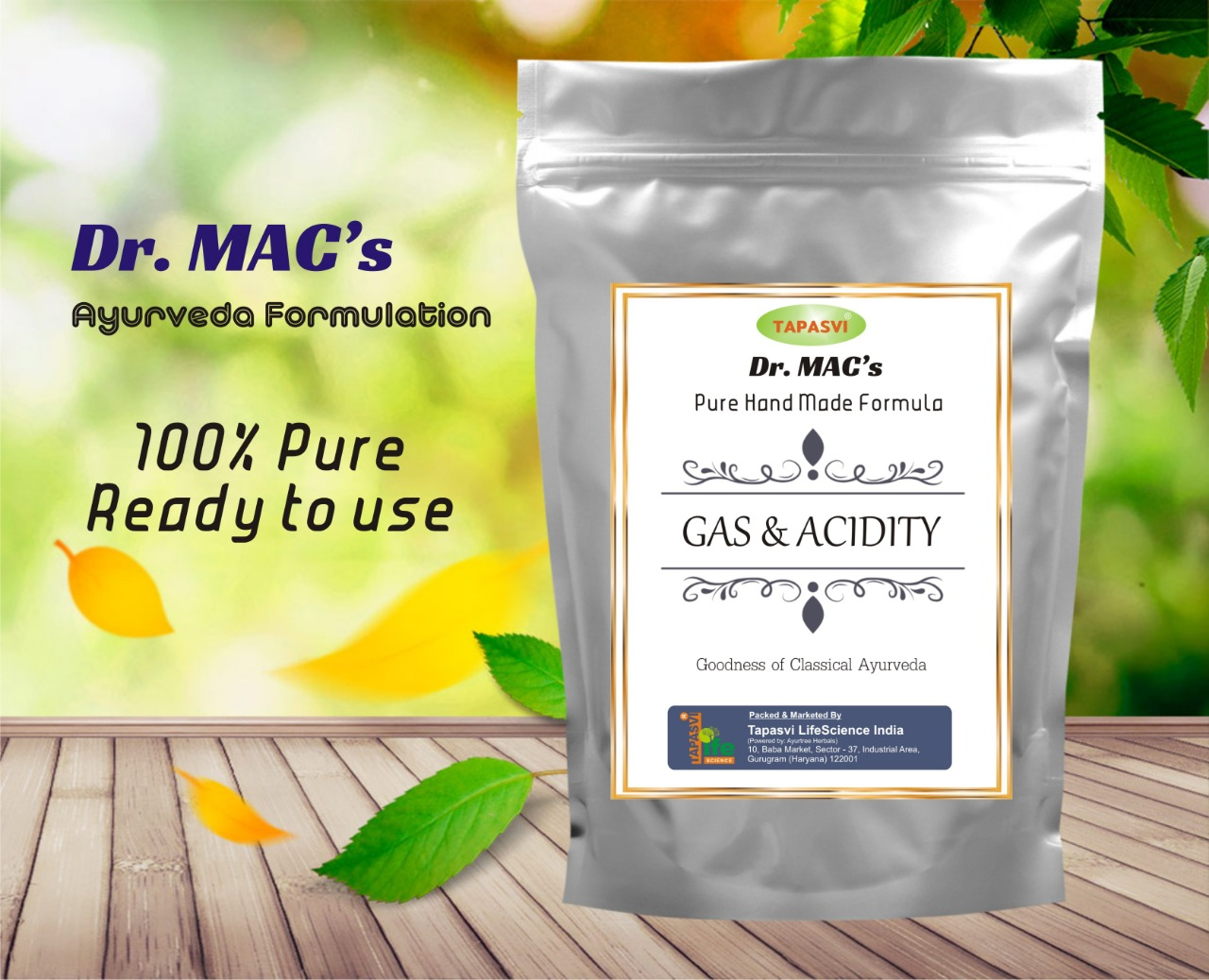Gas/Acidity Formula